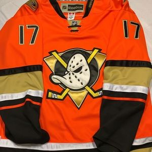 Anaheim Ducks  Reebok Alt Jersey Ryan Kesler #17